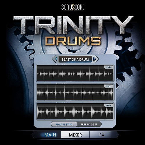 Best Service Trinity Drums Cinematic and Modern Grooves [Download] - Bananas At Large®