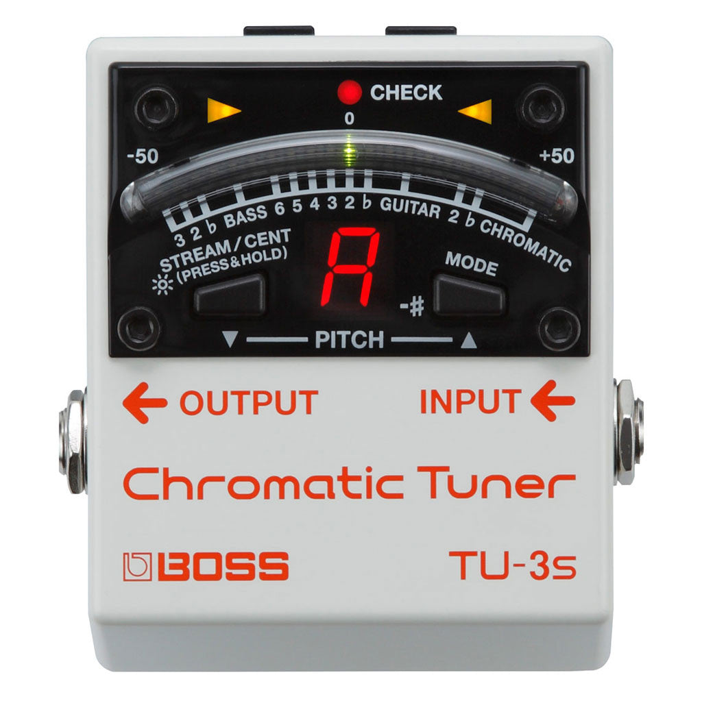 Boss TU-3S Chromatic Tuner - Bananas at Large