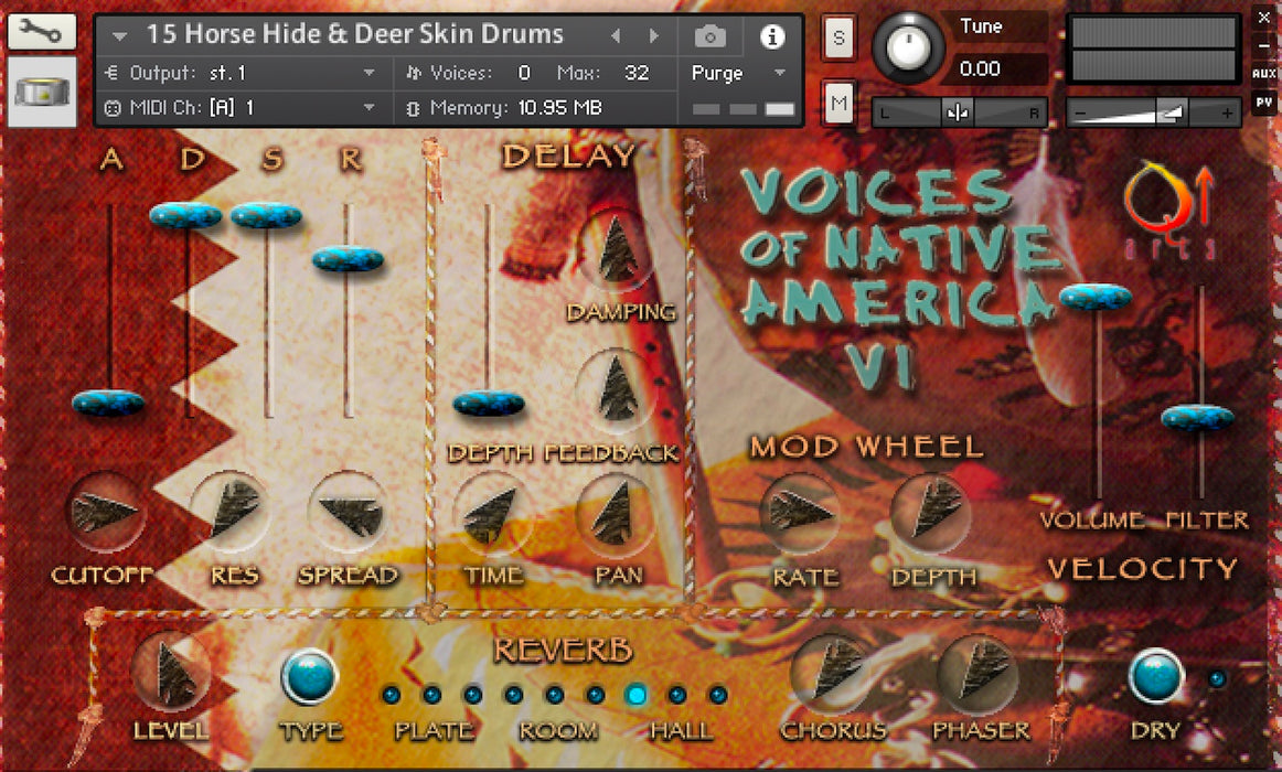 Q Up Arts Voices Native America V1 [Download]