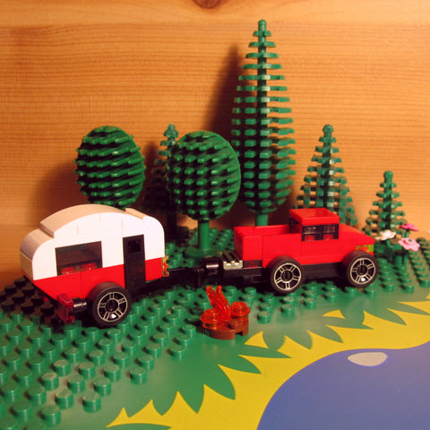 Custom LEGO Camping Sets