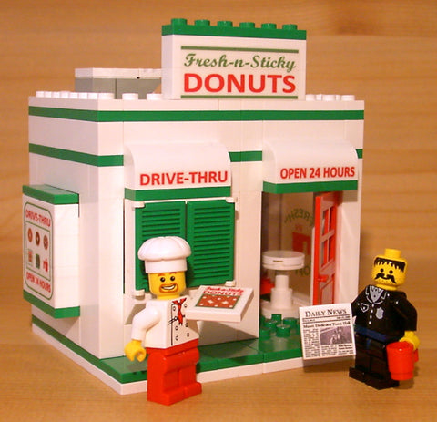 Custom LEGO Eats & Treats Sets