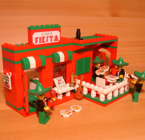 Custom LEGO Fine Dining Sets
