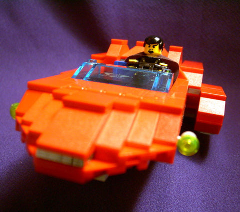 Museum: Dan's Custom Star Wars XJ-2 Bail Organa Airspeeder (for your LEGO town)