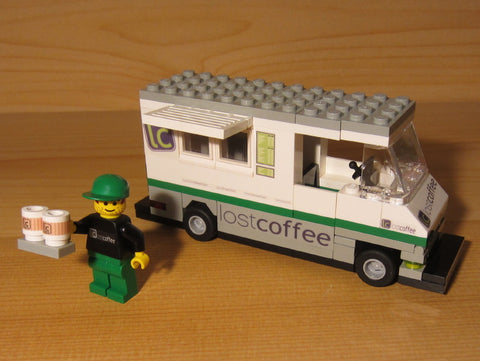 Museum: Dan's Custom Coffee Concession Truck (for your LEGO town)