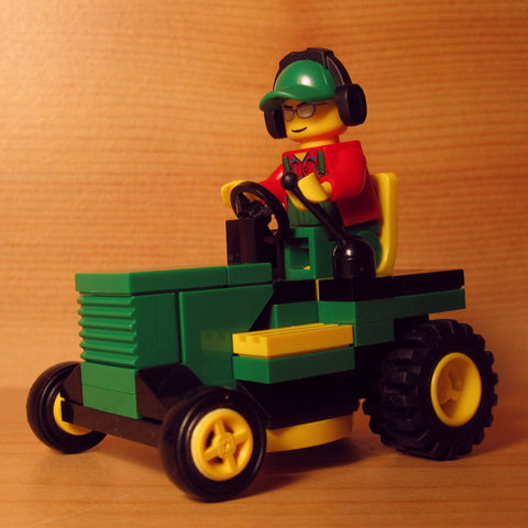 Dan's Custom Riding Mower Green (for your LEGO town)
