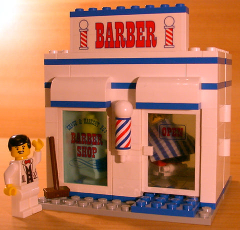 Dan's Custom Barber Shop (for your LEGO town)