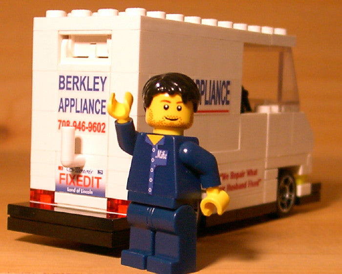 Museum: Dan's Custom Electrician's Van (for your LEGO town)