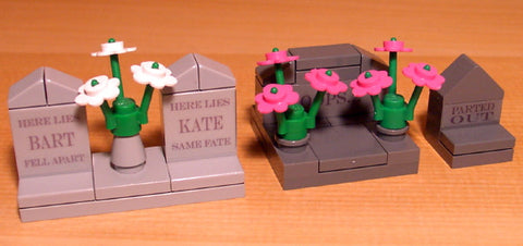 Dan's Custom Cemetery Set A (for your LEGO town)