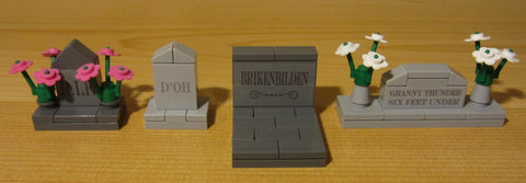 Dan's Custom Cemetery Set B (for your LEGO town)