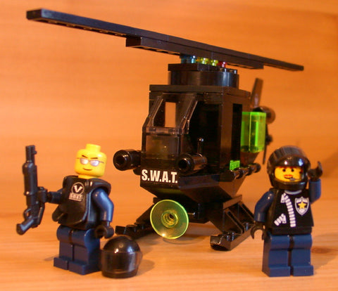 Museum: Dan's Custom S.W.A.T. Chopper (for your LEGO town)