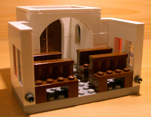Dan's Custom Church Building Chapel (for your LEGO town)