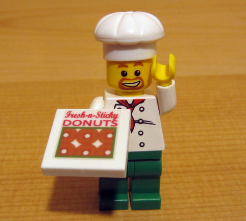 Dan's Custom Donut Delivery Van (for your LEGO town)