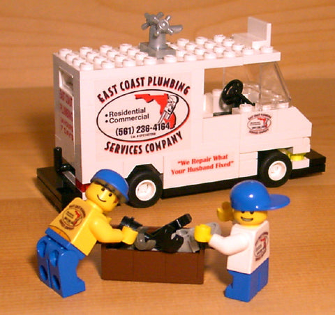 Museum: Dan's Custom Personalized Plumber's Van (for your LEGO town)