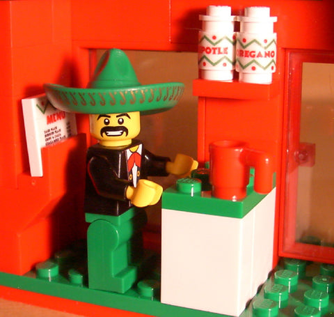 Dan's Custom Mexican Restaurant (for your LEGO town)