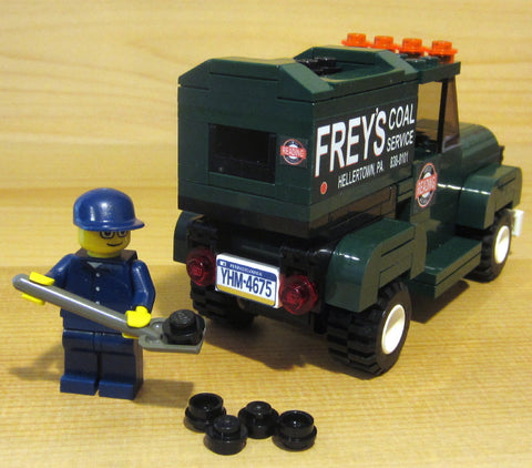 Museum: Dan's Custom Coal Delivery Service (for your LEGO town)
