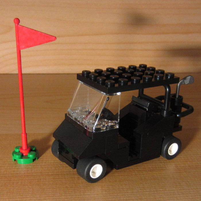 Dan's Custom Golf Cart Black (for your LEGO town)
