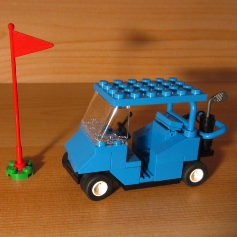 Dan's Custom Golf Cart Blue (for your LEGO town)