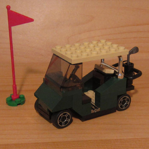 Dan's Custom Golf Cart Deluxe (for your LEGO town)
