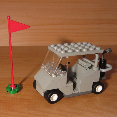Dan's Custom Golf Cart Gray (for your LEGO town)