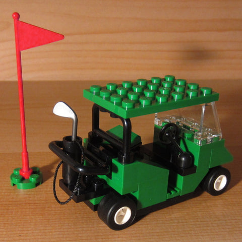 Dan's Custom Golf Cart Green (for your LEGO town)
