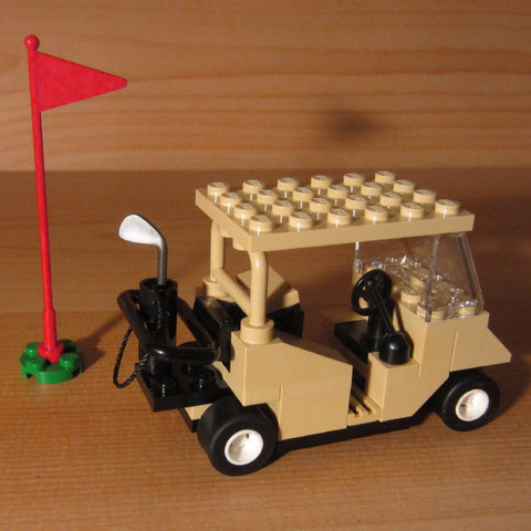 Dan's Custom Golf Cart Tan (for your LEGO town)