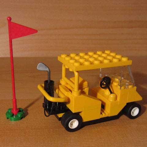 Dan's Custom Golf Cart Yellow (for your LEGO town)