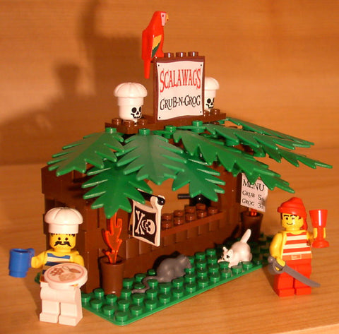 Dan's Custom Scalawags Pirate Cafe (for your LEGO town)