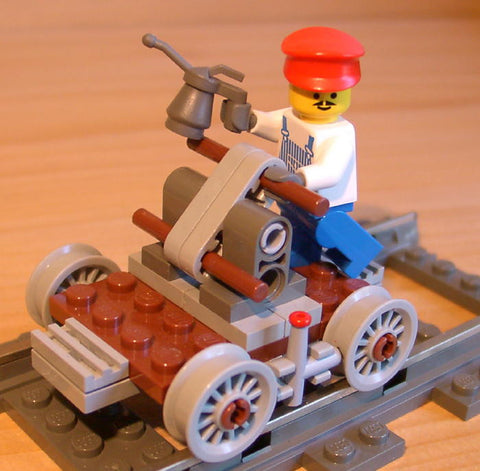 Dan's Custom Railroad Handcar (for your LEGO town)