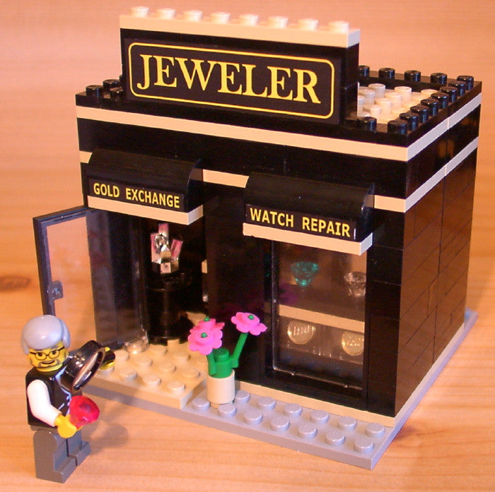Dan's Custom Jeweler's Shop (for your LEGO town)