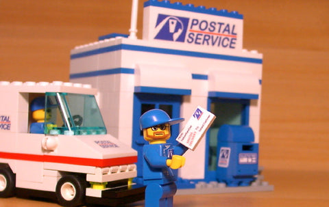 Dan's Custom Postal Service Mail Pack (for your LEGO town)