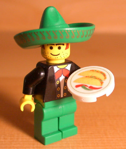 Dan's Custom Mexican Food Pack (for your LEGO town)