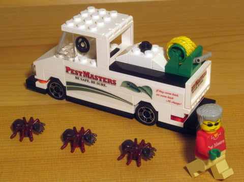 Museum: Dan's Custom Pest Control Service Truck (for your LEGO town)