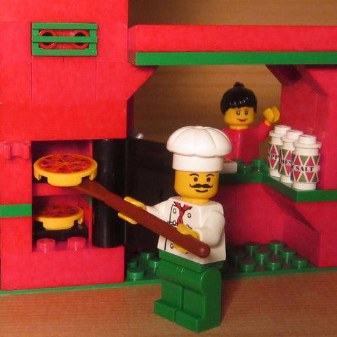 Dan's Custom Italian Pizza Restaurant (for your LEGO town)