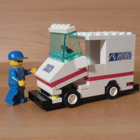 Dan's Custom Postal Vehicle Set (for your LEGO town)
