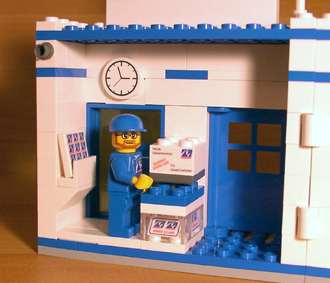 Dan's Custom Post Office (for your LEGO town)