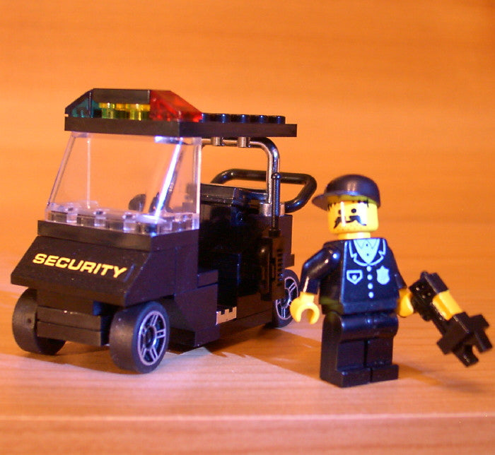 Museum: Dan's Custom Mall Security Set (for your LEGO town)