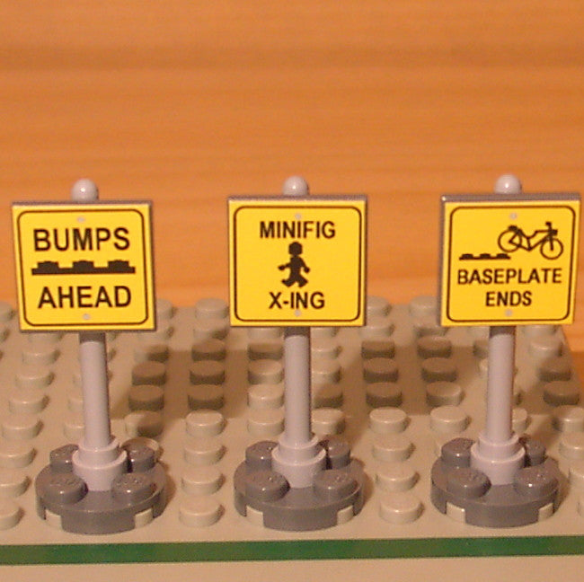 Dan's Custom Traffic Signs (for your LEGO town)