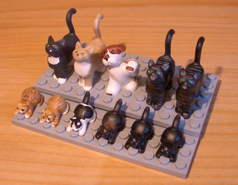 Museum: Dan's Custom Wedding Cats & Dogs (for your LEGO town)