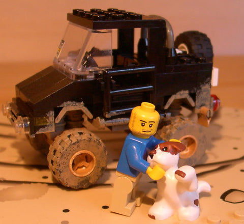 Museum: Dan's Custom Suzuki Samurai (for your LEGO town)