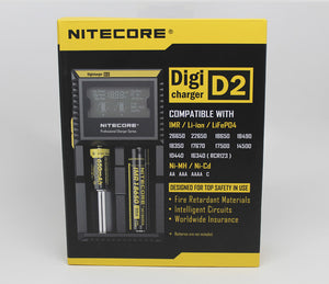 Nitecore D2 Digital Intelligent Lithium Ion Double Battery Charger