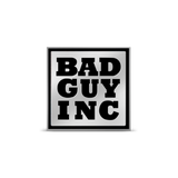 Bad Guy Inc lapel pin (small)