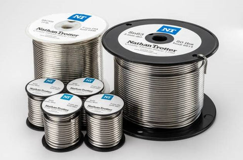 "60/40 Solid Core Wire Solder - $10.95 lb. / .125"" dia."