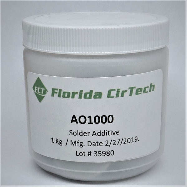FCT, AO1000, SN100C Dross Reducing Pellets