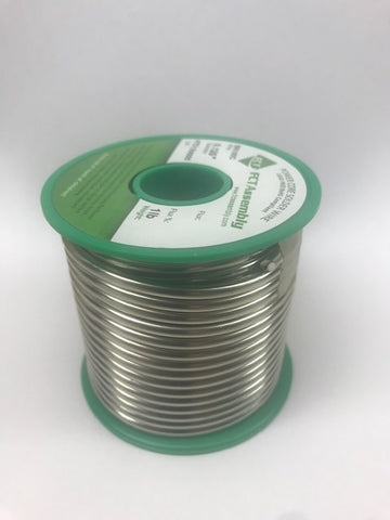 "SN100C Solid Core Wire - .125"" - 1 lb. roll"