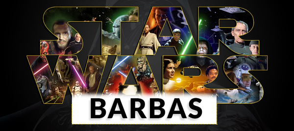 Las barbas en Star Wars