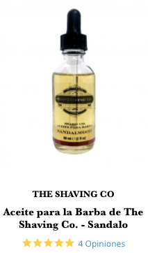 aceite para barba shaving co