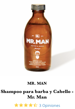 shampoo mr man