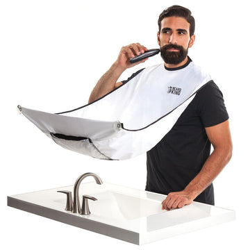 Capa para Barba 'Blanco' / Beard Bib White - Beard King