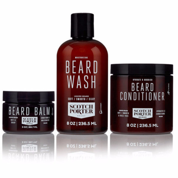 Kit para cuidado de barba Scotch Porter