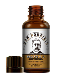 Aceite para barba 'Woods' 30ml - Don Porfirio